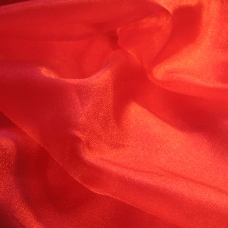 Crystal Organza RED