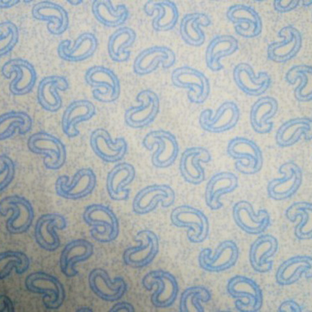 Cotton Print BLUE PAISLEY