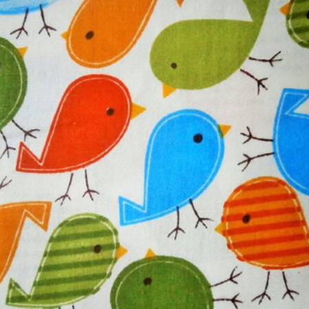 Cotton Print BIRDS