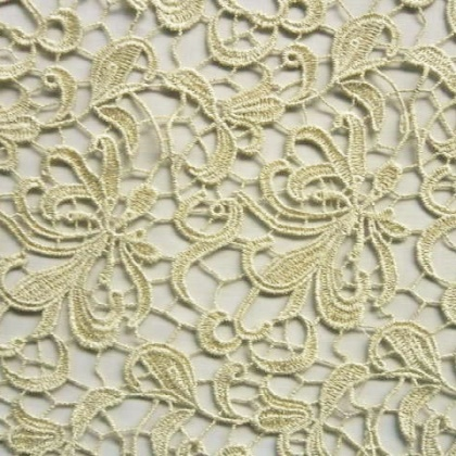 Guipure Flower Lace GOLD