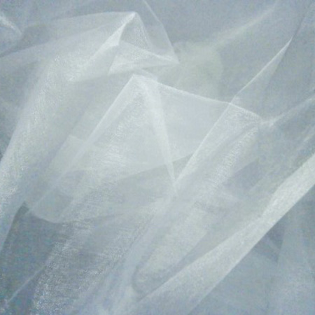 Plain Organza WHITE