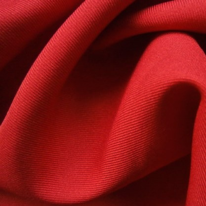 Polyester Twill RED