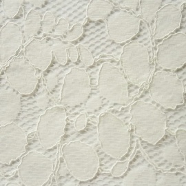 Corded Leaf Lace IVORY