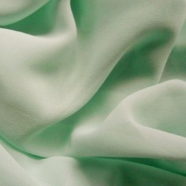 Poly chiffon georgette MINT