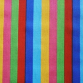 Poly Cotton CIRCUS STRIPES