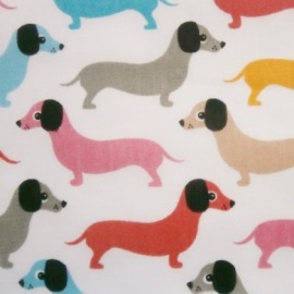 Poly Cotton DACHSHUND