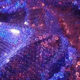 Poly Knit Holo Sequin PURPLE