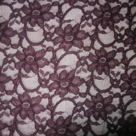 Tulle Lace Cord GRAPE