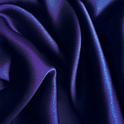 Crepe Back Satin Superior MIDNIGHT NAVY