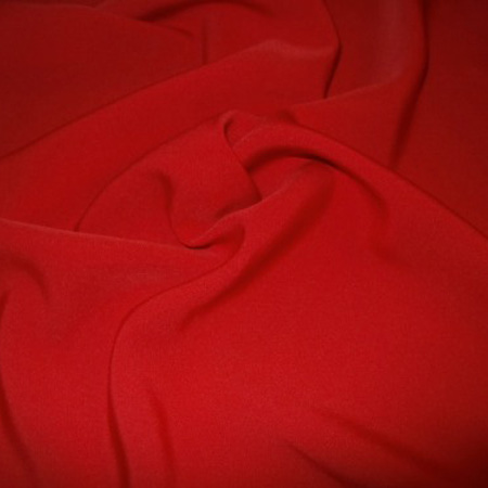 Cashmere Crepe RED