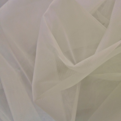 Extra Wide Tulle IVORY
