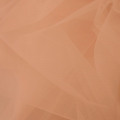 Extra Wide Tulle PALE PEACH