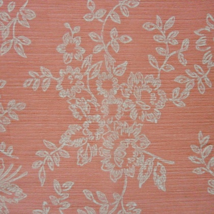 Floral Crinkle Chiffon PINK