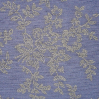 Floral Crinkle Chiffon LILAC