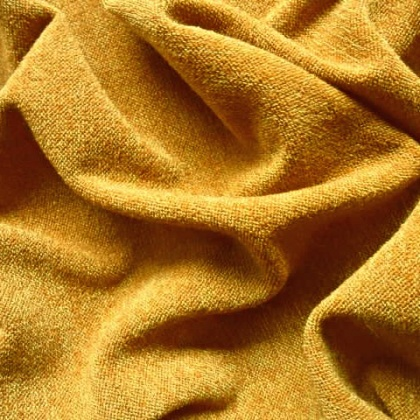 Knitted Warm Jersey MUSTARD