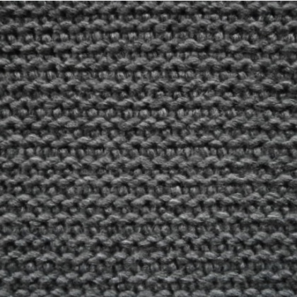 Knitted Wool Mix GREY