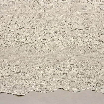 Linear Corded Lace IVORY