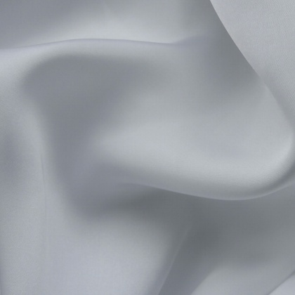 Lightweight Silky Satin WHITE