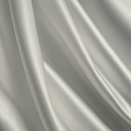 Premium Bridal Silky Feel Duchess Satin PLATINUM