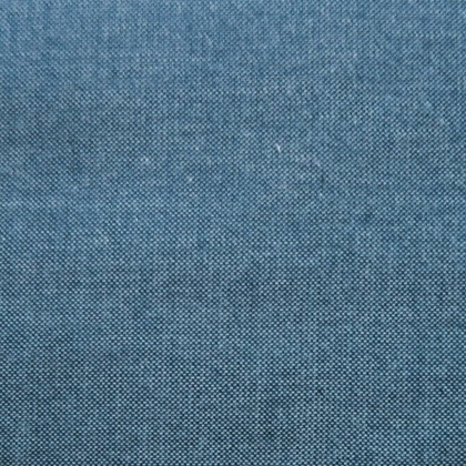 Plain Cotton Chambray BLUE
