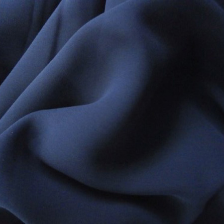 Poly chiffon georgette NAVY