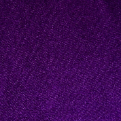 Stretch Cotton-look Polyester AUBERGINE