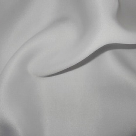 Stretch Duchess Satin WHITE