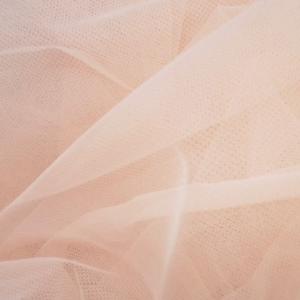 Soft Poly Tulle BLUSH