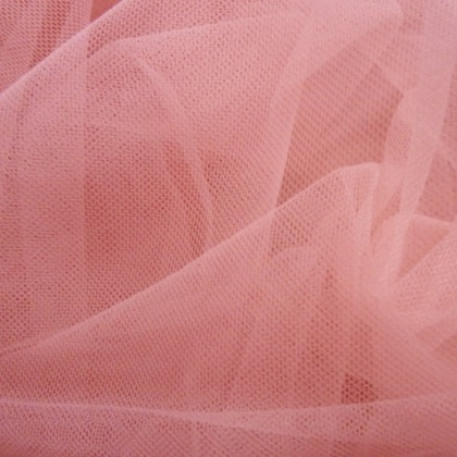 Soft Poly Tulle ROSE