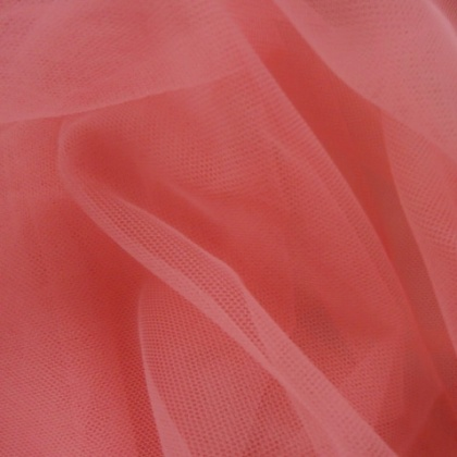 Soft Poly Tulle CORAL