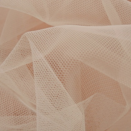 Soft Poly Tulle PALE PEACH