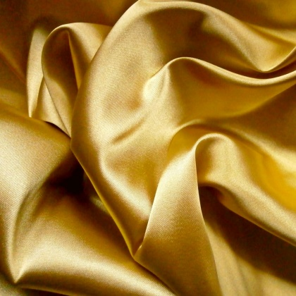 Stretch Satin NEW GOLD