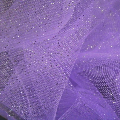Sparkle Tulle LILAC / SILVER