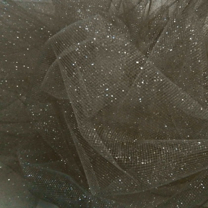 Sparkle Tulle STEEL / SILVER