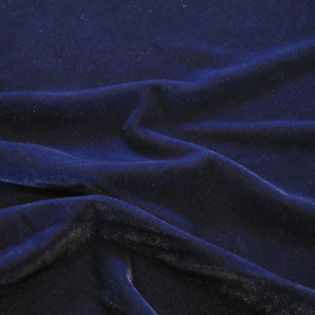 Spandex Velvet ROYAL