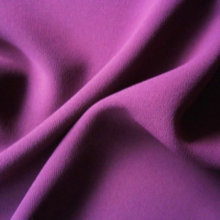 Textured Crepe PLUM