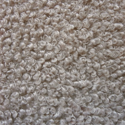 Textured Faux Wool NATURAL