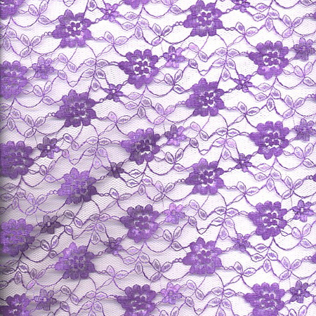 Tulle Lace Flower  PURPLE