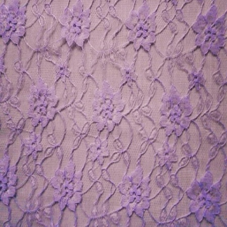 Tulle Lace Flower  LILAC