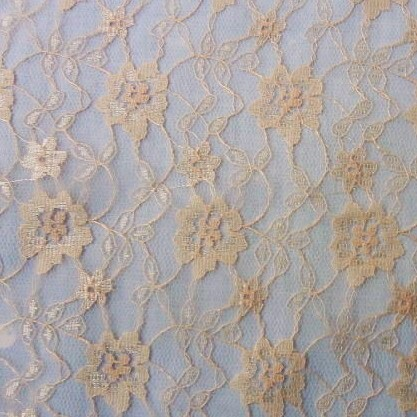 Tulle Lace Flower  NUDE