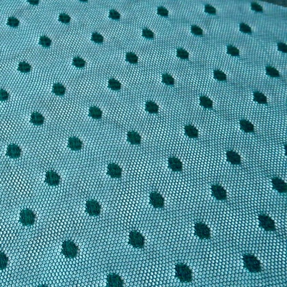 Tulle With Spots TEAL