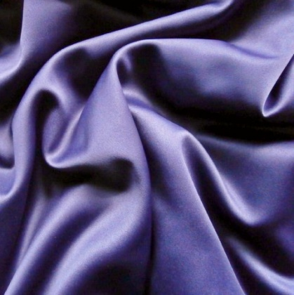 Very Soft Stretch Satin NAVY