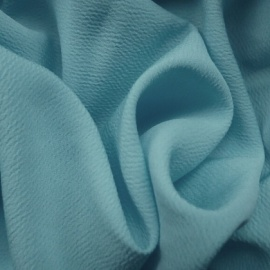 Bubble Crepe PALE BLUE