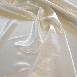 Crepe Back Satin IVORY