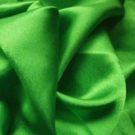 Crepe Back Satin NEW EMERALD