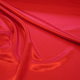 Crepe Back Satin RED