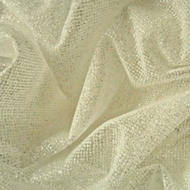 Dazzle Tulle IVORY / SILVER