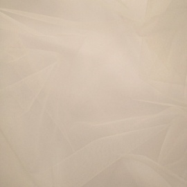 Eco Recycled Soft Tulle IVORY