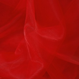Extra Wide Tulle RED