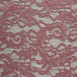 Filigree Corded Lace DUSKY PINK